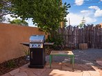 Two Casitas is happy to provide propane for guest use