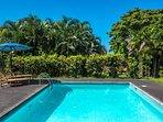 Bask in the sun poolside!