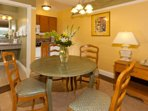Dining area for 4