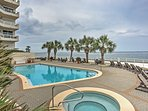 Enjoy the perfect beach retreat at this 2-bedroom, 2-bath Destin vacation rental condo, located right on the sandy...