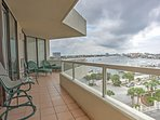 Enjoy marvelous harbor and Gulf of Mexico views!