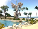 Exclusive infinity pool by Molasses. Get access with your resort passes