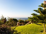 Great views can be enjoyed from both indoor and outdoor of the villa