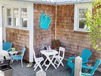 Gas BBQ  Outdoor seating