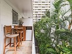 Lanai With Two Chairs and Table