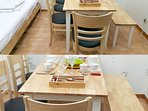 Table for up to 7people