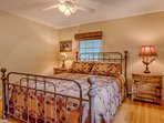 Master with Wrought Iron Bed