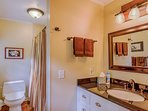 Master Bath with Tub & Shower Combination