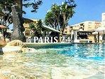 Paris 24 Pool Bar & Sports Club around the corner