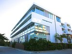Modern building just steps away from the ocean and the world famous 5th Avenue!