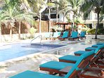 A tropical oasis that invites you to relax, rest...recharge