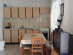 A1(4+2): kitchen and dining room