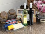 Red and White wine is gift for each guest and Maleny Cheese Platter  (3 night stay)