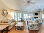 2 Living Areas with Plenty of Seating