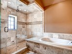And check out just how spacious that shower is.