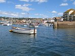 Teignmouth a short drive from the property