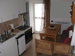 kitchen /dining room/ bathroom entrance
