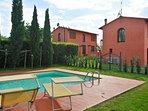 Villa Montegufoni between Florence and Sienna