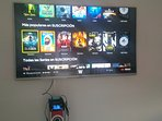 49' Flat Screen Smart TV with BlockBuster