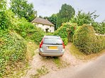Parking space for Yew Tree Cottage