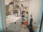 Full Service Laundry Room