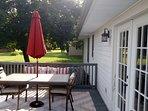 Deck, Dining Area