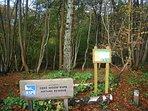 Local Nature Reserve (5mns walk)