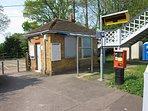 Crowhurst Local Train Station (7mins walk)