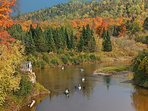 Canoeing. Many routes. Rental canoes in area. Sylvania Outfitters. Also Cross Country skiing.