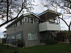 Lone Pine Lodge - Upper floor.  Loads of space and family and pet friendly!