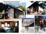 Hiver et été,nous vous accueillons dans 7 pièces,5 chambres indépendantes: ski à 15-25mn(les Orres)