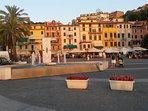 Lerici: la piazza principale....