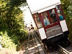 Babbacombe Cliff Railway - one of the nearby attractions.