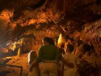 Kent's cavern prehistoric caves are a ten minute walk from the apartments.