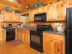 Fully equipped kitchen to prepare a snack or a delicious meal.