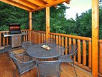 Dining in the tree tops - keep it simple and throw some chicken on the grill.