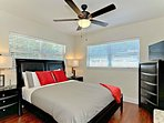 Guest Room: tempurpedic like Queen size bed, luxury sheets, bedbug proof mattres