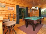 Challenge your friends and family to a pool tournament!
