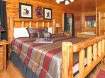 Main floor king bedroom suite - sleep in luxurious comfort! pillowtop beds.