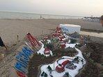 Beautiful Beach Art at La Cala