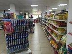 Demello's super market less than 200 steps from the villa