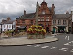 Melrose town centre - full of independent retailers and fabulous coffee stops and quality eateries