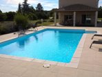Private pool, modern villa and beautiful views.. Close to Aubeterre and Chalais (Market town)..