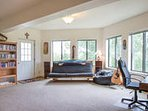 Lower level Family room with plenty of space to spread out!