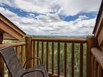 Great Views from the deck!