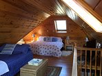 Third floor bedroom with King bed