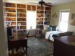 Second floor bedroom / office twin bed