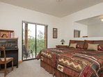 'Sleep Like a Log' - Lower level master, with patio, walk in closet and master bath!