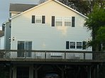 4bdr/3bth Lake view home in Ocean Lakes Family Campground, Myrtle Beach. Only 5 rows from beach