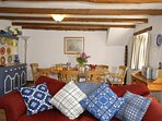Comfortable family holiday home in Upper Solva with open plan living/dining room